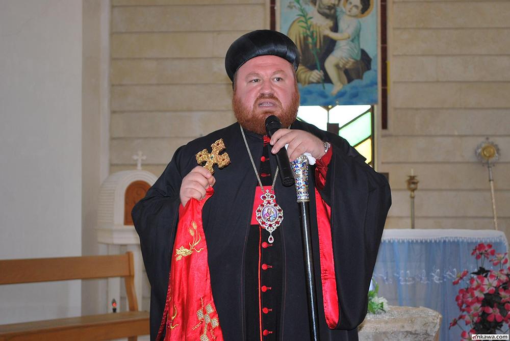 المطران مار نيقوديموس داؤد متي شرف يتوسل جميع البطاركة بتوحيد العيد
