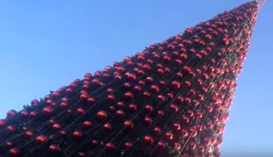 انارة شجرة بيت ساحور فرقة الرعاة ٢٠١٤